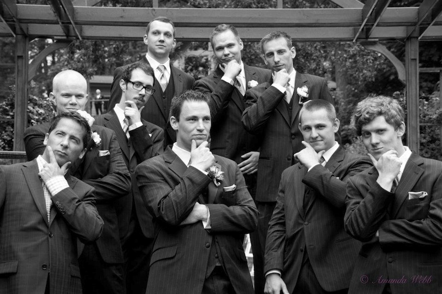 All the Grooms Men ;)